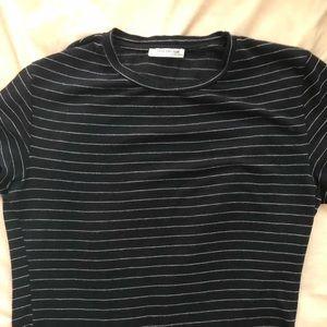Zara Tops - ZARA | Striped T-Shirt